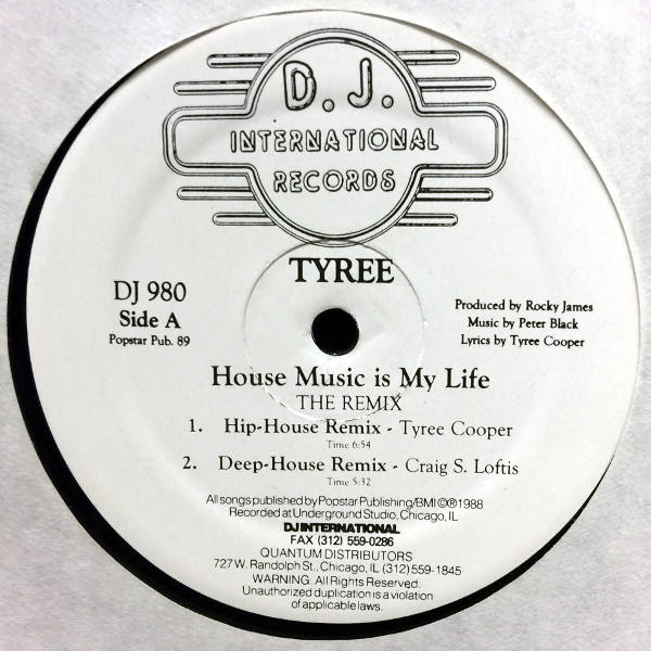 Tyree house music is my life the remix detroit music for My house house music