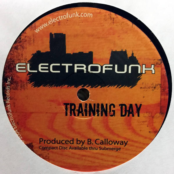 B. Calloway - Electrofunk Limited Mix CD