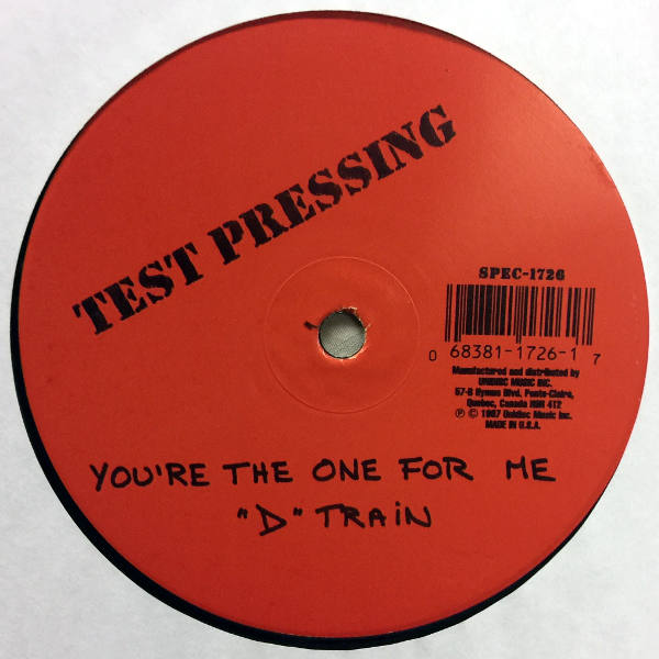 D-Train - You're The One For Me (Labour Of Love Mix)