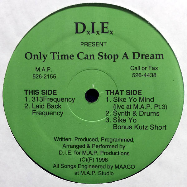 Detroit In Effect- Only Time Can Stop A Dream