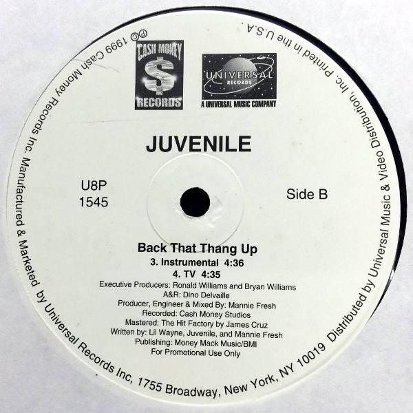 juvenille back that ass up