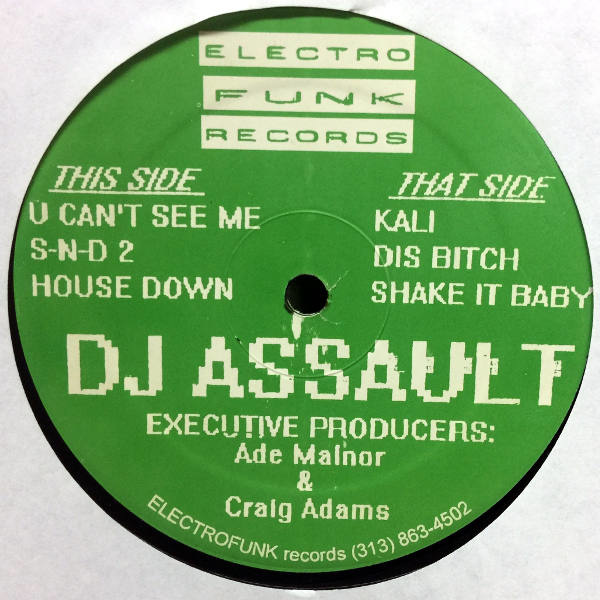 Dj Assault-The Unfuckwitable Ep
