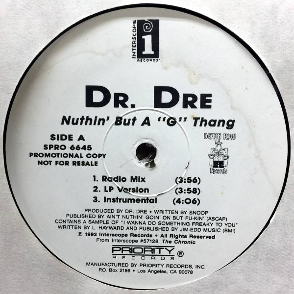 Download nuthin but a g thang instrument - Free MP3 Songs