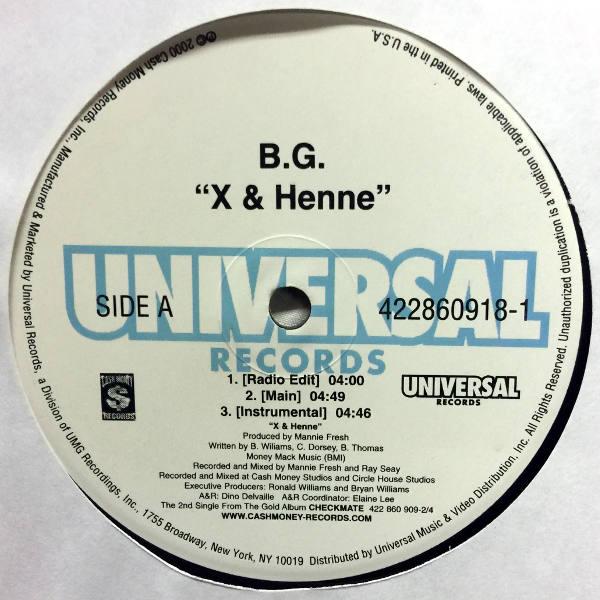 B G -X & Henne