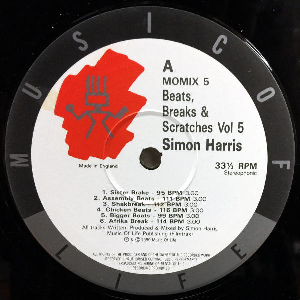 Simon Harris-Beats,Breaks & Scratches Volume 5