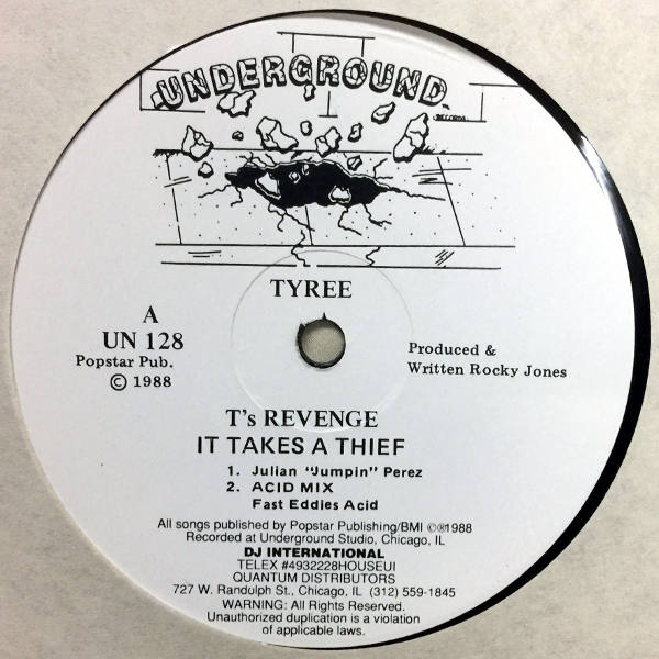 Tyree-T's Revenge It Takes A Thief